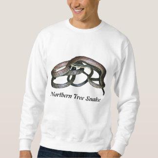 Camiseta básica de la serpiente septentrional del sudadera