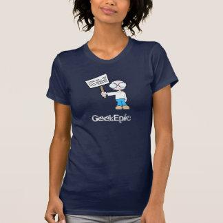 Camiseta básica de las señoras 2 polera