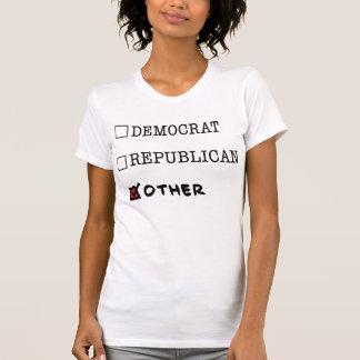 Camiseta básica de las señoras de la Otro-Marca Poleras