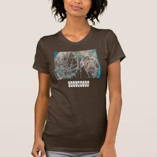 Camiseta básica de las señoras poleras