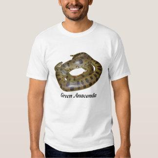 Camiseta básica del Anaconda verde Playera