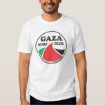 Camiseta básica del club de la resaca de Gaza Playera
