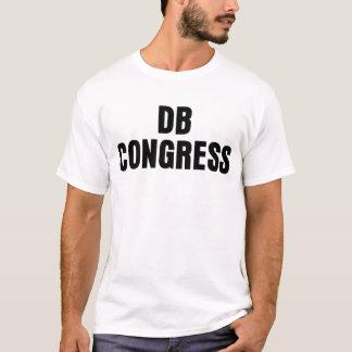 Camiseta básica del congreso del DB de la luz