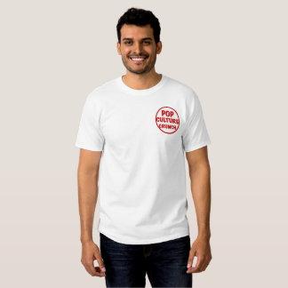 Camiseta básica del crujido del cultura Pop Poleras