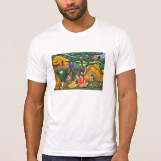 Camiseta básica del cuello barco