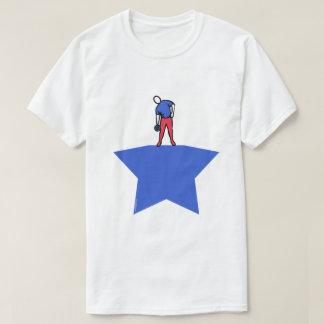 Camiseta básica del diseño del levantador de peso remera