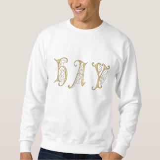 Camiseta básica del heno y de la bala sudaderas encapuchadas