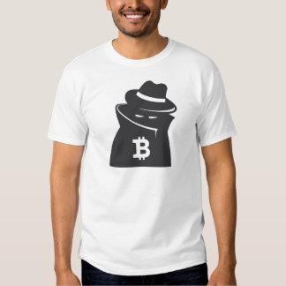 """Camiseta básica del """"individuo sombrío"""" de Bitcoin Playera"""