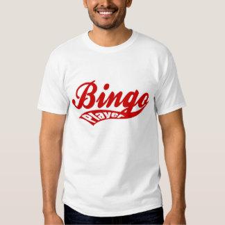 Camiseta básica del jugador del bingo del bingo U Camisas