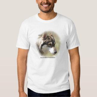 Camiseta básica del lobo camisas