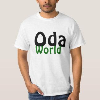 Camiseta básica del mundo del Oda