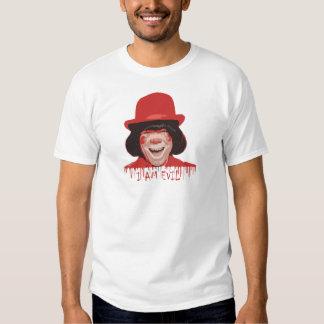 Camiseta básica del payaso malvado playera