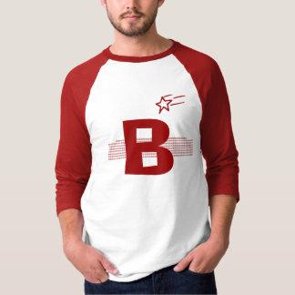 Camiseta básica del raglán de la manga de los