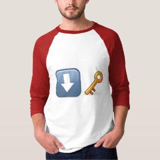 Camiseta básica del raglán de la manga de los playera