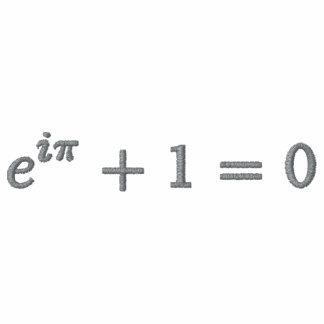 Camiseta básica: La identidad de Euler pequeña.