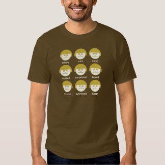 Camiseta básica oscura de la impresión de Botox Remeras
