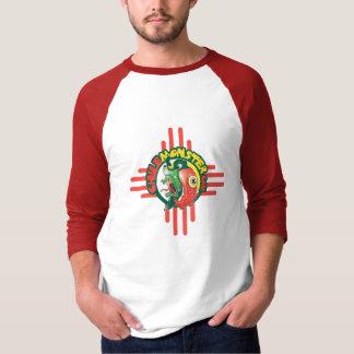Camiseta básica para hombre de la manga del camisas