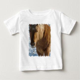 Camiseta belga del bebé del caballo de proyecto