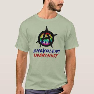 Camiseta benévola del anarquista