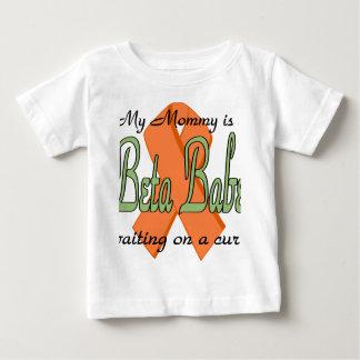 Camiseta beta del niño del bebé playeras