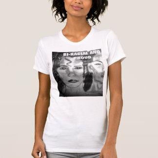 Camiseta BI-RACIAL Y ORGULLOSA de la señora