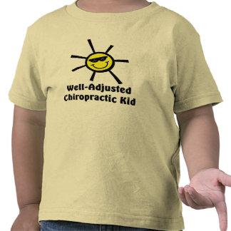 Camiseta Bien-Ajustada del niño de Chiro