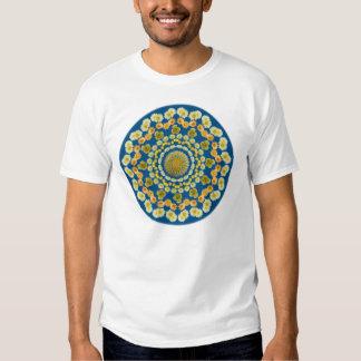 Camiseta bilateral del cactus de barril playera