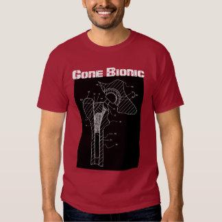"""- Camiseta """"Bionic"""" ida del reemplazo de la cadera Playeras"""