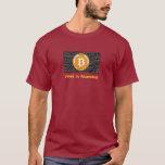 Camiseta Bitcoin - M2
