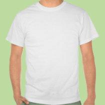 Camiseta blanca árabe de la paz playeras