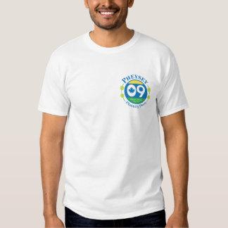 Camiseta blanca básica de Phamily Phun Playera