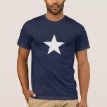 Camiseta blanca de la estrella, una otra