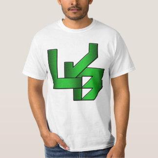 Camiseta blanca de LJB (de baja calidad)