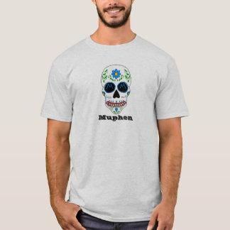 Camiseta blanca de Muphen del cráneo