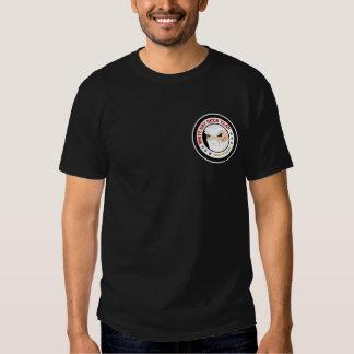 Camiseta blanca de Ninja del gorra Playera