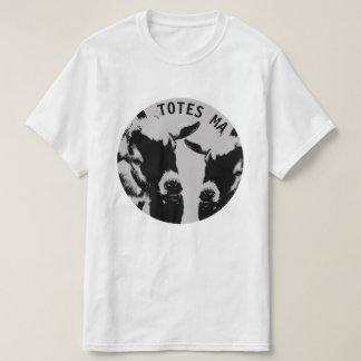 Camiseta blanca del algodón de los TOTES MAGOTES Camisas