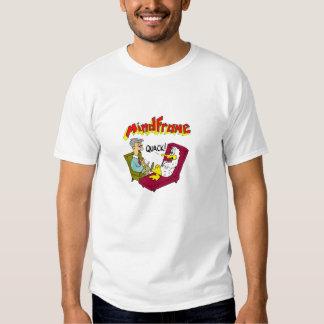 """Camiseta blanca del """"curandero"""" de Mindframe Playera"""