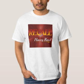 Camiseta blanca del valor unisex - memoria Harry Playera