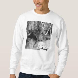 Camiseta blanca X-Grande de los árboles del Pulóvers Sudaderas