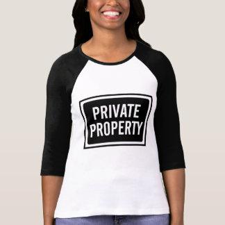 Camiseta blanco y negro de la muestra de la propie playera
