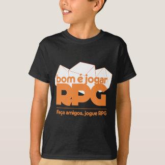 Camiseta Bom é jogar RPG - BEJRPG T-Shirt