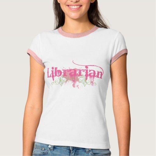Camiseta bonita del bibliotecario remeras