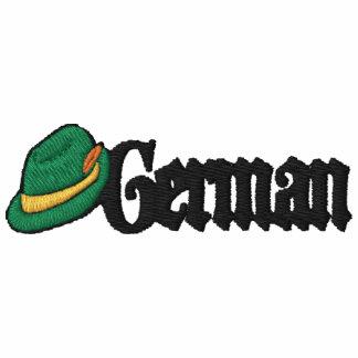 Camiseta bordada alemán