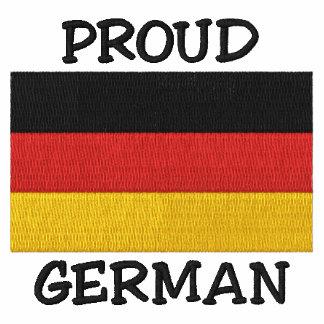 Camiseta bordada alemán orgulloso
