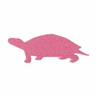 Camiseta bordada de la tortuga