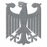"""Camiseta bordada del """"escudo de armas"""" de Alemania"""