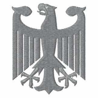 Camiseta bordada del escudo de armas de Alemania