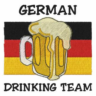 Camiseta bordada equipo de consumición alemana