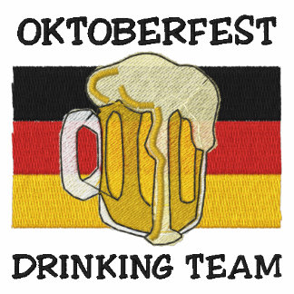 Camiseta bordada equipo de consumición de Oktoberf