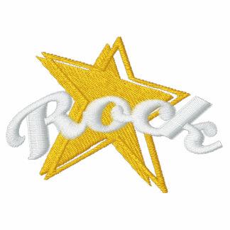 Camiseta bordada estrella del rock